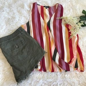Label Rachel Roy Striped Tank